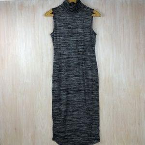 Philosophy Turtleneck Space Dye Midi Dress